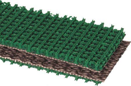 Apache Conveyor Belt Intrwvn 120 PVC Grn 60InW