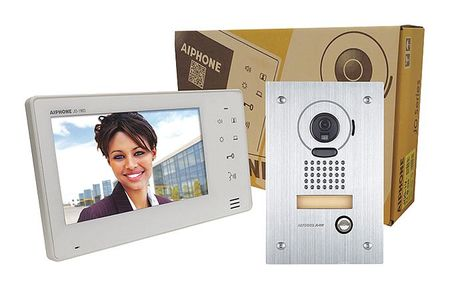 Video Intercom Station Kit SS by USA Aiphone Wired Intercom Systems