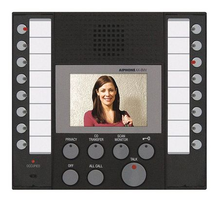 Master Station 24VDC CAT 5e by USA Aiphone Wired Intercom Systems