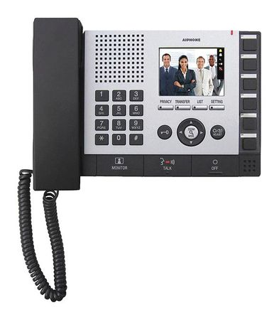 Master Station 24VDC 2 5/16 by USA Aiphone Wired Intercom Systems