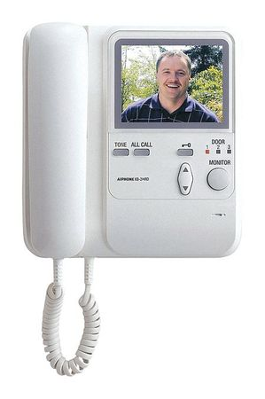 Video Sub Master Station 24VDC 4 5/16 by USA Aiphone Wired Intercom Systems