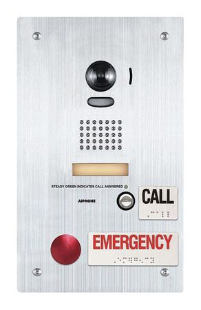 Video Door Station KB Series CAT 5e by USA Aiphone Wired Intercom Systems