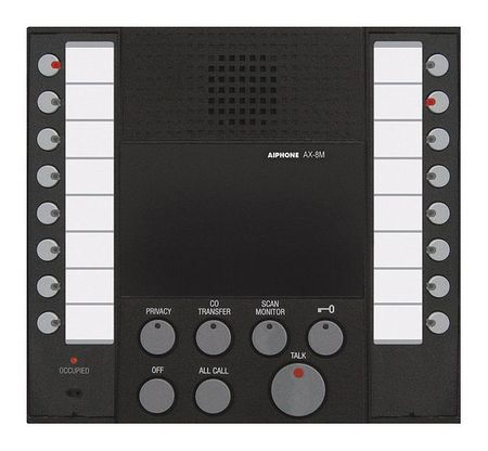 Master Station AX Series by USA Aiphone Wired Intercom Systems