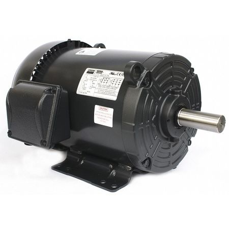 GP Motor TEFC 5 HP 1750 rpm 1 1/8in dia. by USA Dayton General Purpose Three Phase AC Motors