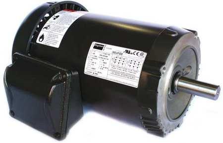 GP Motor TEFC 2 HP 3500 rpm 7/8in. dia. by USA Dayton General Purpose 3 Phase AC Motors