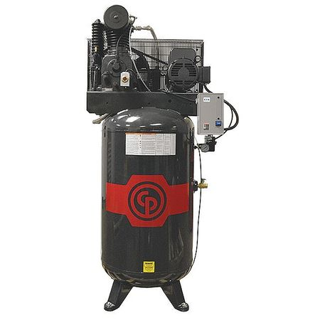 Chicago Pneumatic 25HP Quiet Rotary Screw Air Compressor.