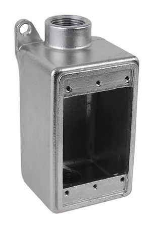 """Weatherproof Box 2Inlet 2.67""""x6.3""""x2.83 by USA Calbrite Electrical Weatherproof Boxes"""