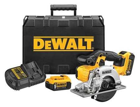 DeWalt DCS373P2 20V MAX Lithium Ion Metal Cutting Circular Saw Kit