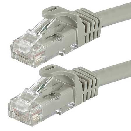 Ethernet Cable Cat 6 Gray 100 ft. Model 9803 by USA Monoprice Voice & Data Patch Cords