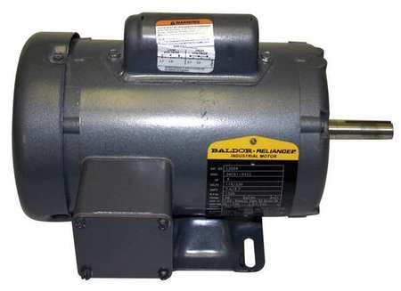 Motor 1/2 HP 1725 RPM 115/230V 56 TEFC by USA Baldor General Purpose Capacitor Start AC Motors