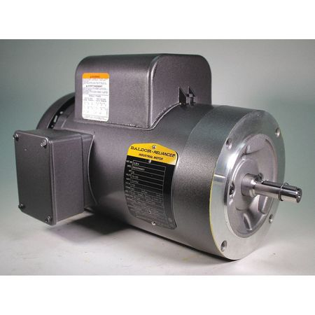 Motor 1 1/2 HP 1725 RPM 115/230V 56C Model VL3514 by USA Baldor General Purpose Capacitor Start AC Motors