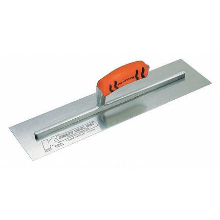 Kraft Tool Gunite Trowel Pro Form Heavy Duty 18x4