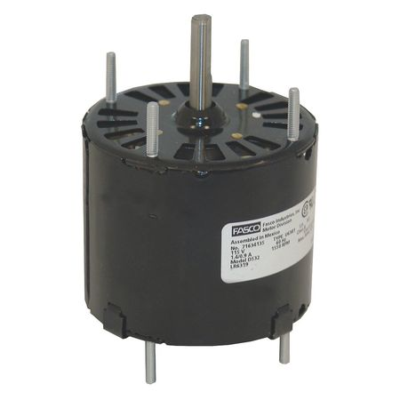 HVAC 3.3 In Motor 1/30 1/125 HP 115V CW by USA Fasco HVAC 3.3 Inch Diameter Motors