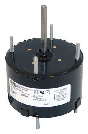 HVAC Motor 1/80 HP 1500 rpm 115V 3.3 Model D123 by USA Fasco HVAC 3.3 Inch Diameter Motors
