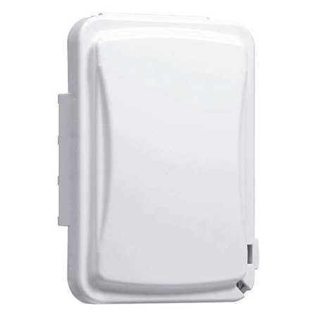 While In Use Weatherproof Cover White by USA Taymac Electrical Weatherproof Box Covers