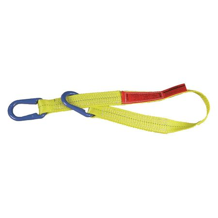 Lift-All Web Sling Type U Polyester 3inW 4 ft.L