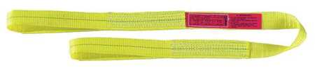 Lift-All Web Sling Type 3 Polyester 4inW 11 ft.L