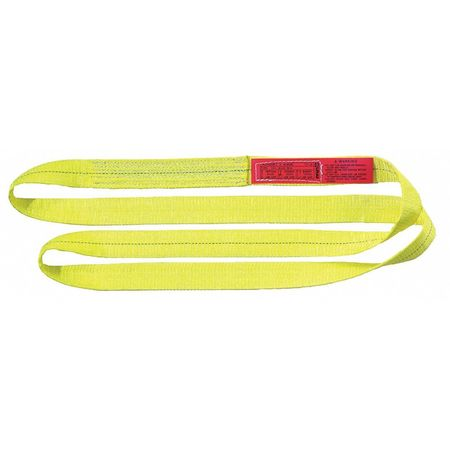 Lift-All Web Sling Type 5 Polyester 1inW 16 ft.L