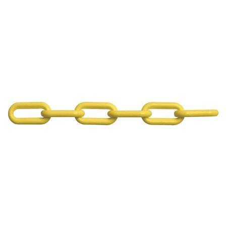 Peerless Yellow Plastic Chain Weldlss 8mm 150ft L