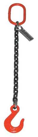 16ft Sngl Leg 5//8In Chain Sling 22600 lb