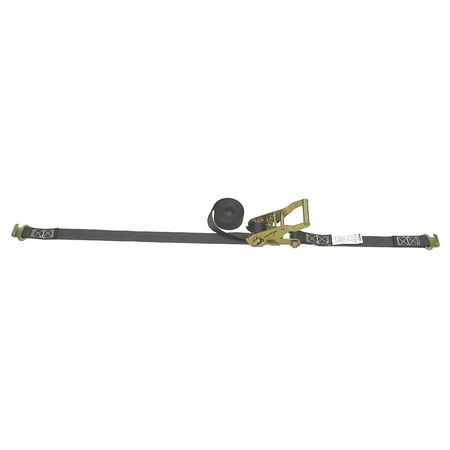 Lift-All Tiedown Rtcht Strap Asmbly 330lb Flat Hk