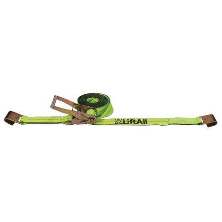 Lift-All Tiedown RtchtStrapAsmbly 3300 lb Flat Hk