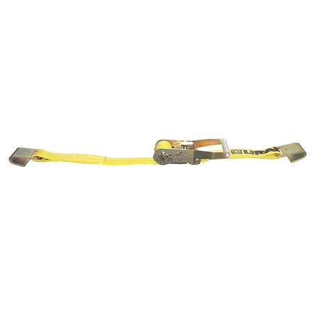 Lift-All Tiedown RtchtStrapAsmbly 3300 lb Flat Hk Type 61002