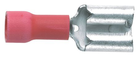 Female Disconnect Vinyl 0.81 in. PK1000 by USA Panduit Electrical Wire Motor Lead Disconnects