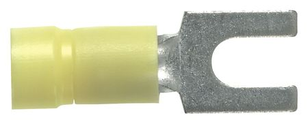 Fork Terminal Vinyl 12 10AWG No.10 PK50 by USA Panduit Electrical Wire Terminals