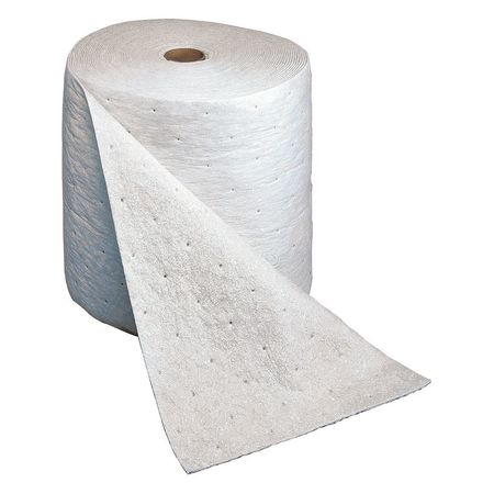 Absorbent Pad,Medium,White,18 gal.,PK100 3M MCP-P1715
