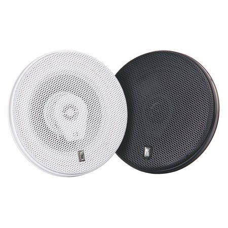Outdoor Speakers Black 2 13/32in.D PR by USA Poly Planar Audio Speakers