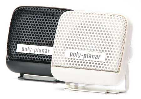 Remote Speaker White 1 1/4in.D 4 ohm by USA Poly Planar Audio Speakers