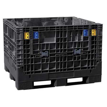 Collapsible Container,48 In L,45 In W,bl