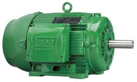 Motor 3 Phase 7 1/2 HP RPM 3530 213T by USA Weg General Purpose 3 Phase AC Motors