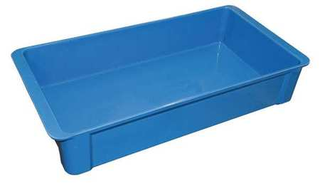 Stack Container,23-3/8x12x4-3/8,blue