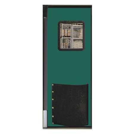 Chase Swinging Door 7 x 3 ft Jade Polyethylene