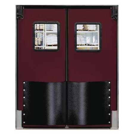 Chase Swinging Door 7 x 6 ft Burgundy PR