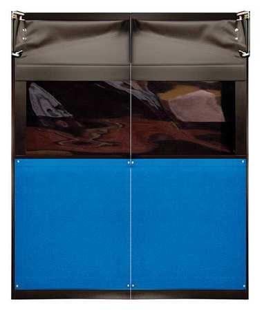 Chase Swinging Door 8 x 5 ft Royal Blue PVC PR