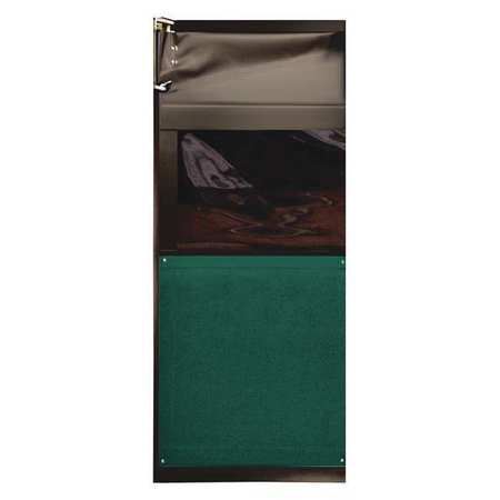 Chase Swinging Door 7 x 2.5 ft Forest Green Type AIR9733084FGR
