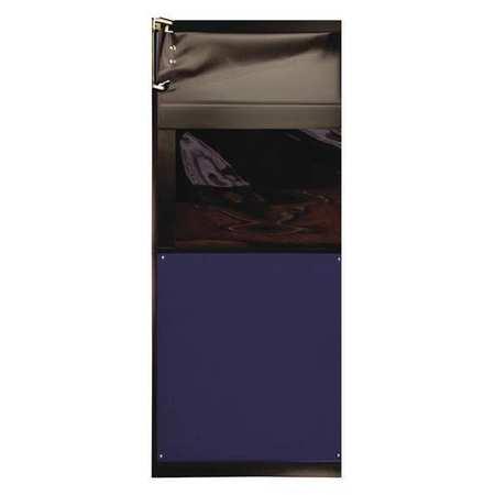 Chase Swinging Door 8 x 3 ft Navy Blue PVC