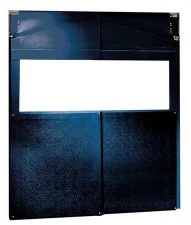 Chase Swinging Door 8 x 7 ft Navy Blue PVC PR