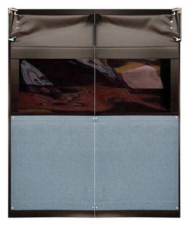 Chase Swinging Door 7 x 5 ft Metallic Gray PR Type AIR9736084MGR