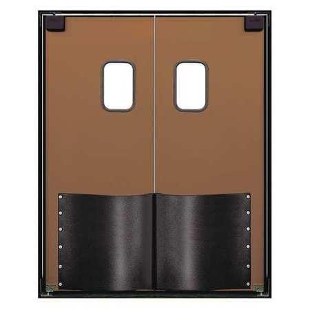Chase Swinging Door 8 x 6 ft Medium Brown PR