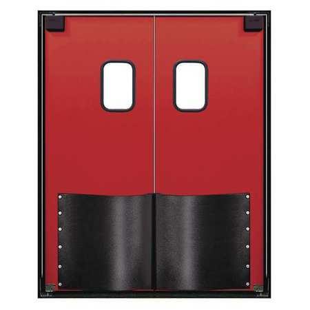 Chase Swinging Door 8 x 7 ft Red Wood Core PR