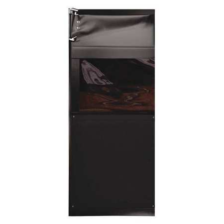 Chase Swinging Door 7 x 2.5 ft Black PVC