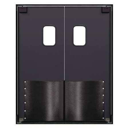 Chase Swinging Door 8 x 6 ft Metallic Gray PR