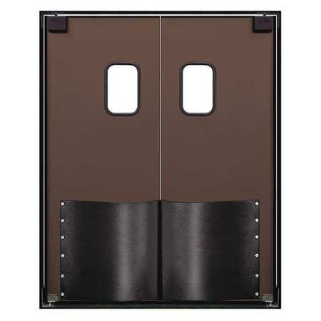 Chase Swinging Dr 8x6 ft Chocolate Brown PR