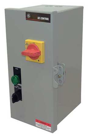 IEC Combo Str 1.5 2.5 A 120V Coil 1 Enc Model GE CE0203HP1 by USA GE Electrical Motor NEMA Combination Starters