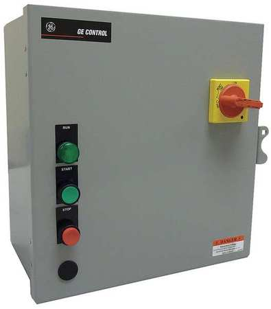 IEC Combo Str 1 1.6 A 120V Coil 1 Enc by USA GE Electrical Motor NEMA Combination Starters