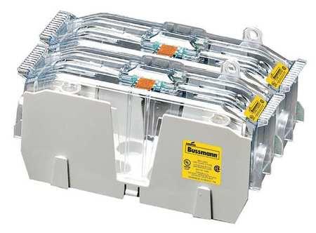 Fuse Block Industrial 200A 2 Pole Model JM60200 2CR by USA Eaton Bussmann Circuit Fuse Blocks & Holders